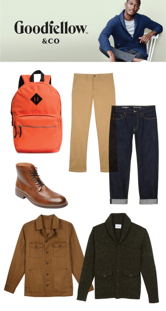 Goodfellow & Co. -- Target upcoming men's fashion line