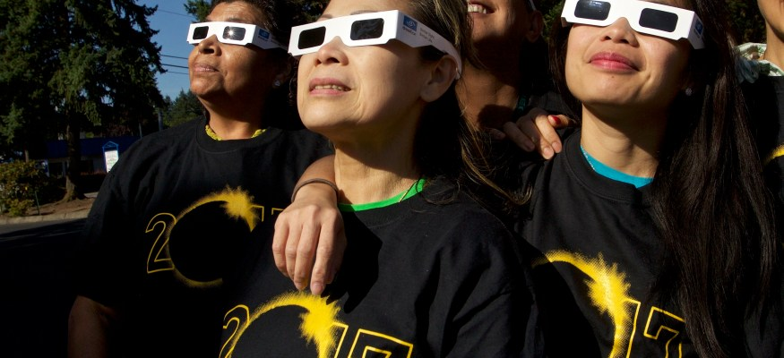 How to put those eclipse glasses to good use!