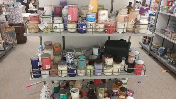 Macy's Backstage candles more expensive than T.J. Maxx