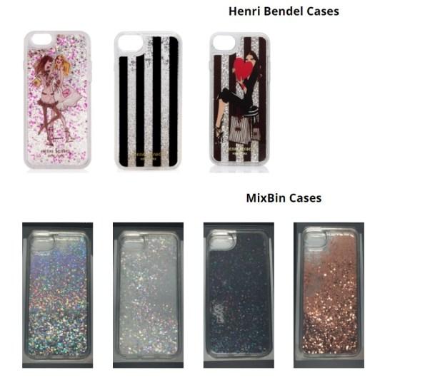 Recalled iPhone cases