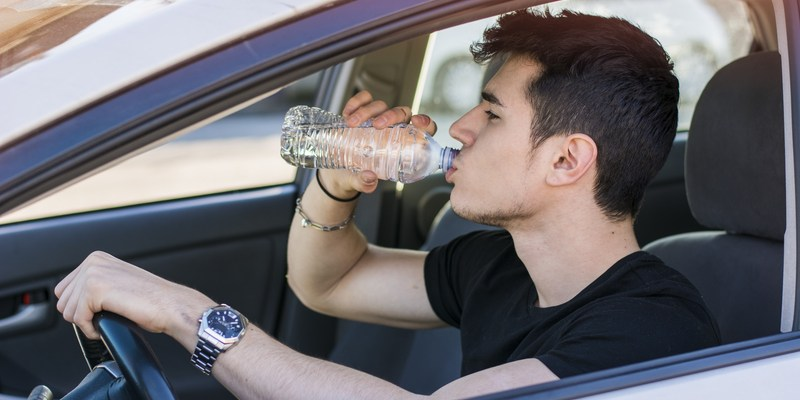 Why leaving a water bottle in your car could be dangerous