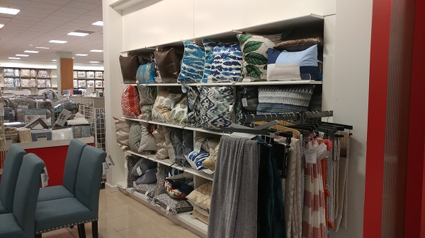 Throw pillows for $25 each at Macy's Backstage