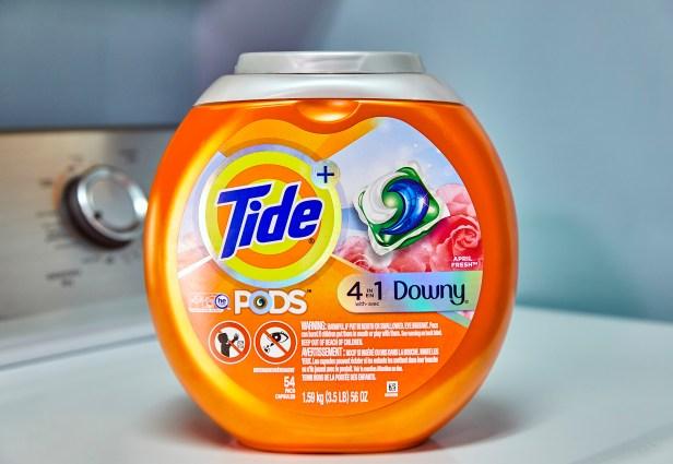 Tide new laundry detergent lid