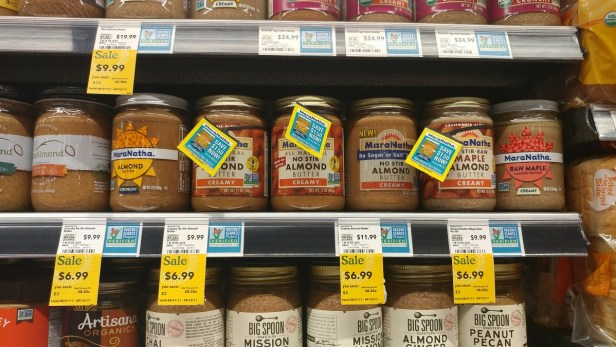 Whole Foods almond butter new price