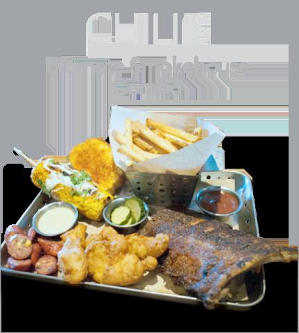Chili's Ultimate Smokehouse Combo