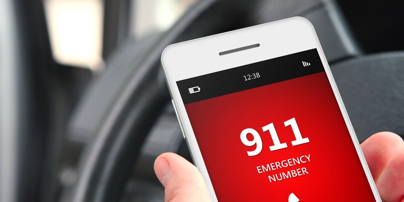 iOS 11 has an 'emergency SOS' feature that you should enable