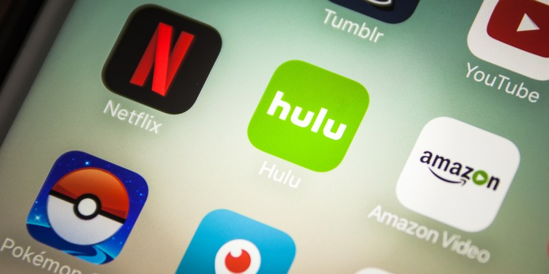 Hulu Netflix mobile apps