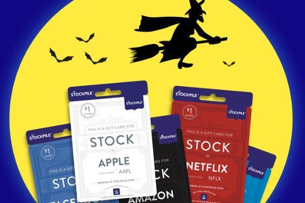 Stockpile Halloween $1 stock gift card
