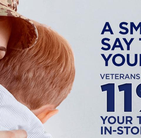 Dollar General Veterans Day 11% discount