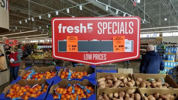 Lidl Fresh Deals start every Wednesday