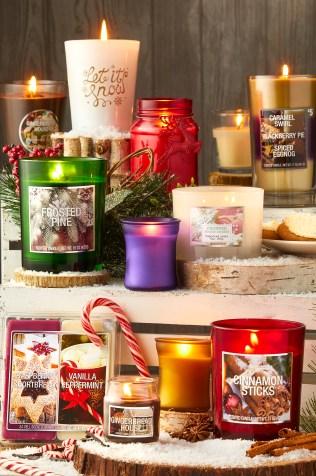 Dollar General holiday candles