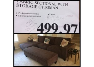 Costco sectional couch deal