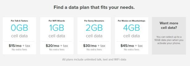 Republic Wireless Clear Choice plans