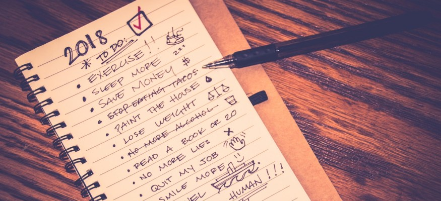 Tackle two New Year's goals at once with this simple tip