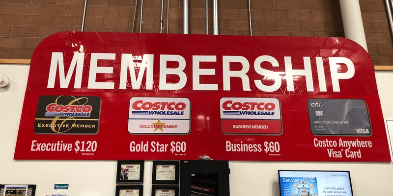 costco membership desk where you do exchanges
