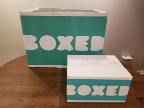 Boxed premium sample bundle