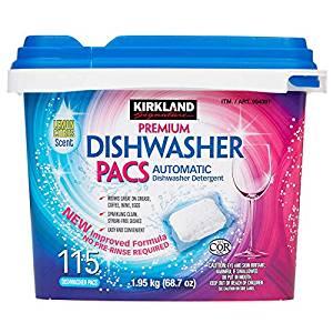 costco kirkland signature dish detergent