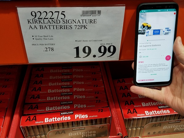 Costco vs Boxed batteries