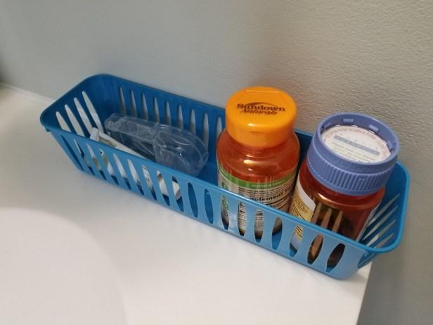 Multi-purpose plastic baskets: