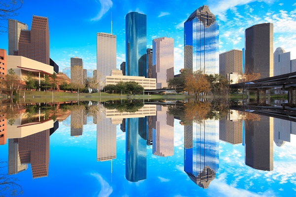 Skyline in Houston, Texas