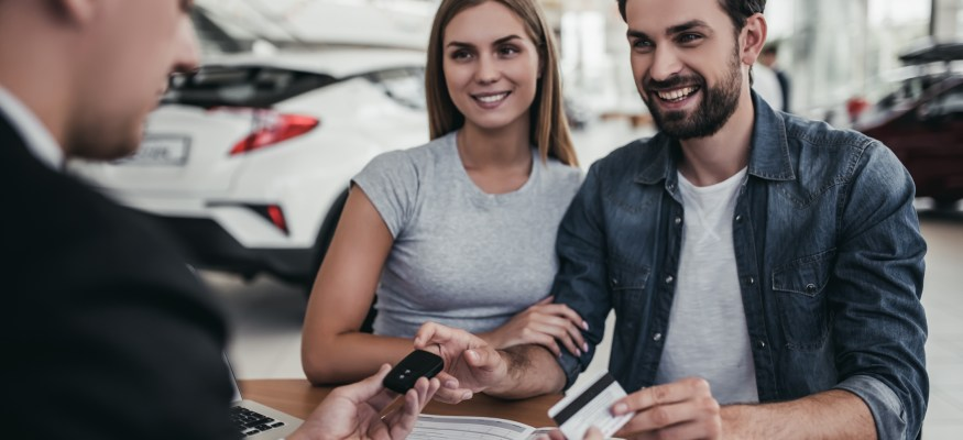 Buying car with credit card