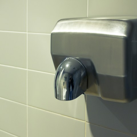 Study uncovers the gross truth about bathroom hand dryers