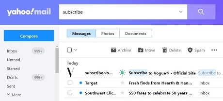 unsubscribe from junk email