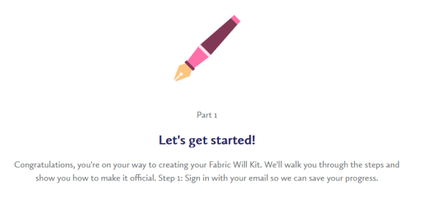 wills let's get started