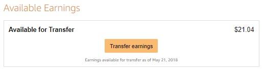 MTurk earnings