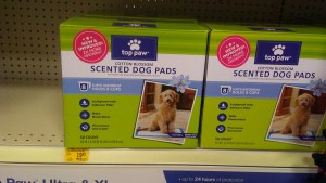 top paw scented dog pads