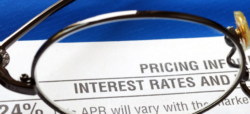 Credit card interest rate