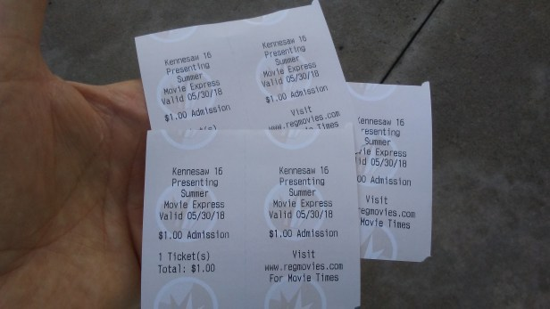 movies tickets