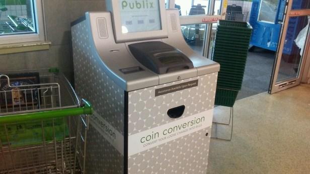 publix coin counter