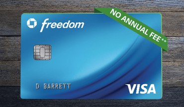Chase Freedom credit card
