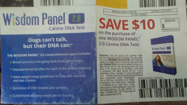 wisdom panel coupon