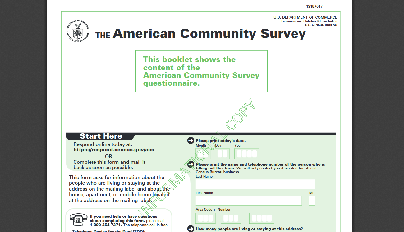 The American Community Survey Is It Legit Amp Do You Have
