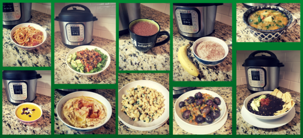 Pictures from my 14-day Instant Pot Challenge