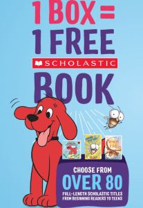 clifford scholastic free book promotion