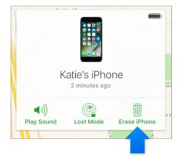 how to erase your iPhone data