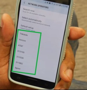 Android settings to unlock your phone