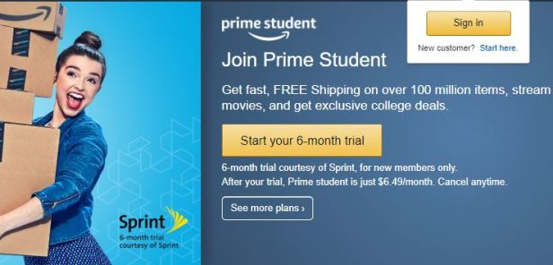 Amazon Pfrime - 4 streaming services that offer a student discount
