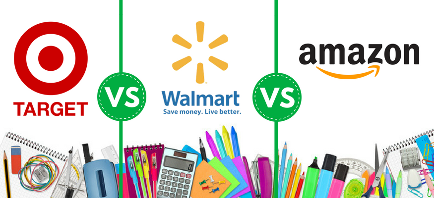 Back-to-school shopping at Amazon, Walmart, Target: Who is cheapest?