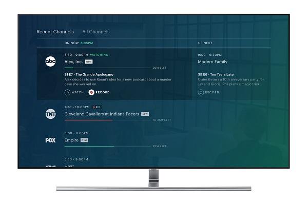 Hulu's TV guide feature