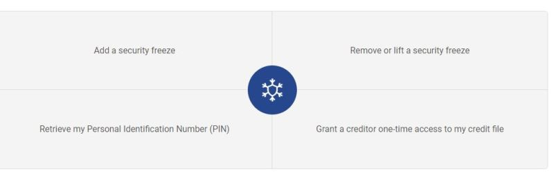 Experan Security Freeze Center - Now you can freeze your credit for free