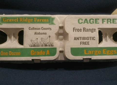 gravel ridge farms cage-free eggs recall