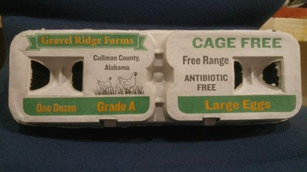 gravel ridge farms cage-free eggs recall