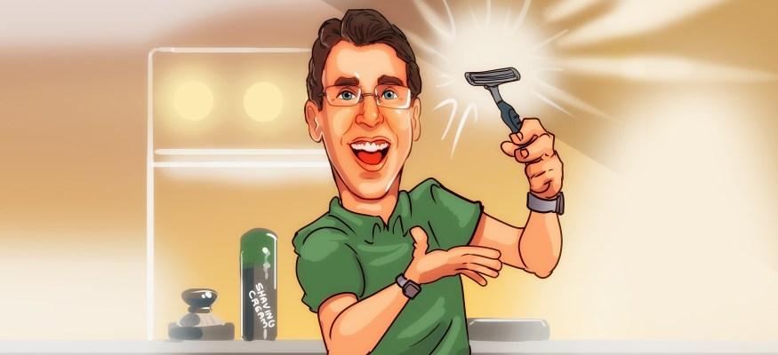 Clark Howard makes a razor last one year
