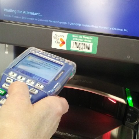 Kroger Scan Bag Go service