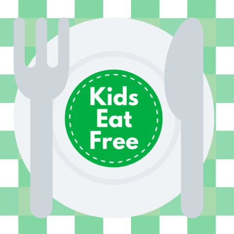 Restaurants kids eat free or cheap