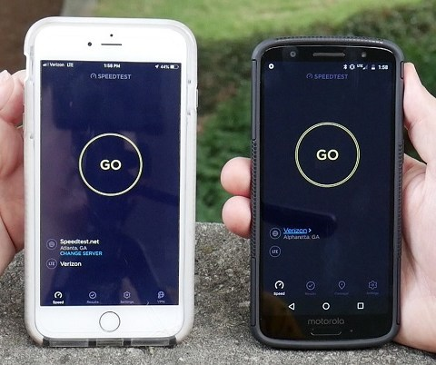 Total Wireless vs. Verizon speed test: Which is faster?